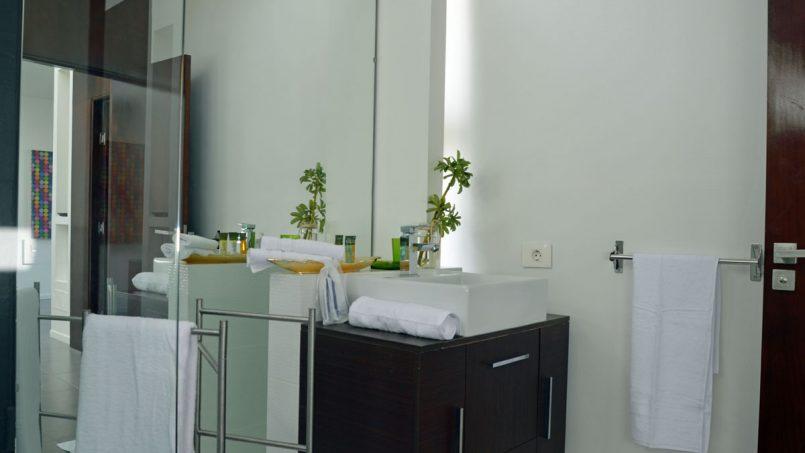 Waschtisch Badezimmer Villa Adeje auf Teneriffa