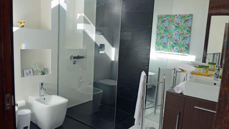 Bidet Badezimmer Villa Adeje auf Teneriffa