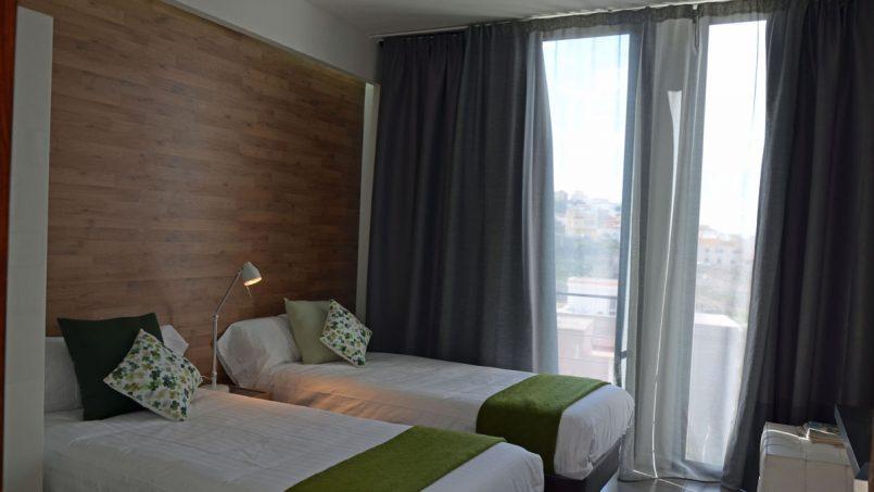 Zwei Einzelbetten Schlafzimmer Villa Adeje auf Teneriffa