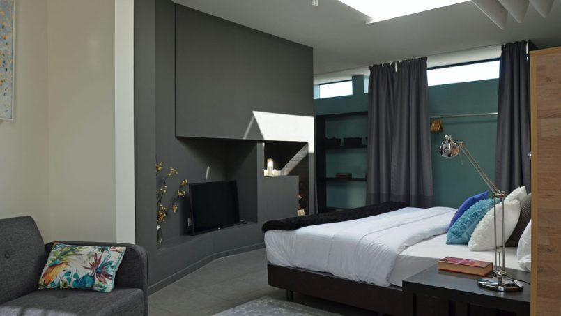 Fernseher Schlafzimmer Villa Adeje auf Teneriffa