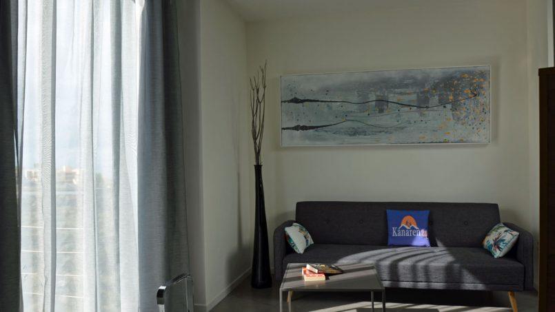 Sitzecke Schlafzimmer Villa Adeje auf Teneriffa