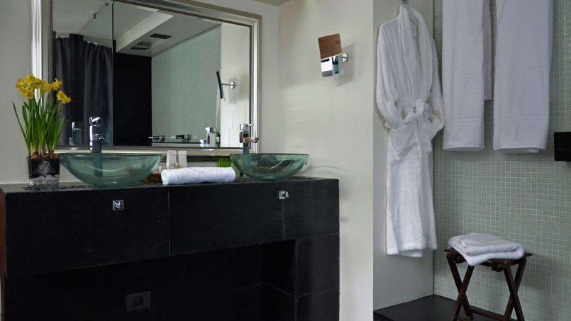 Doppelter Waschtisch Badezimmer Villa Adeje auf Teneriffa