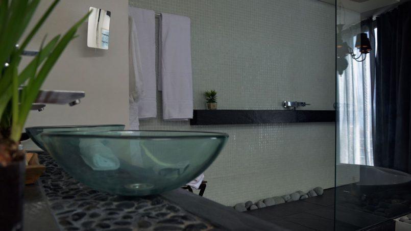 Waschschale Badezimmer Villa Adeje auf Teneriffa