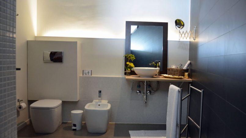 Duschbad Schlafzimmer 3 Villa Adeje auf Teneriffa