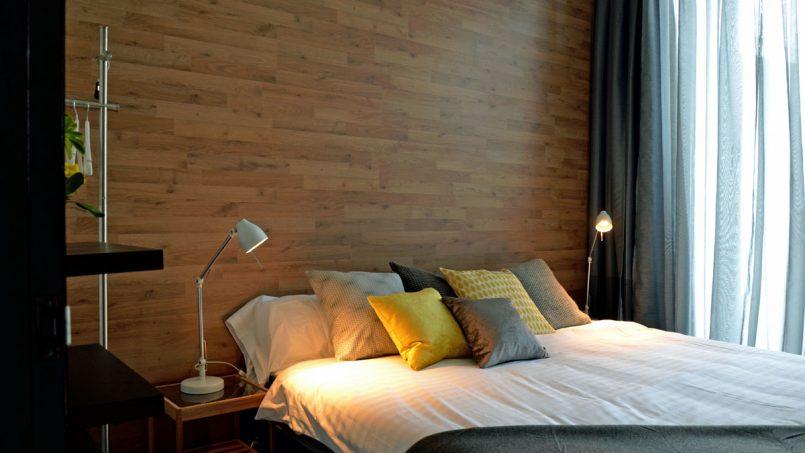 Drittes Schlafzimmer mit Doppelbett Villa Adeje auf Teneriffa