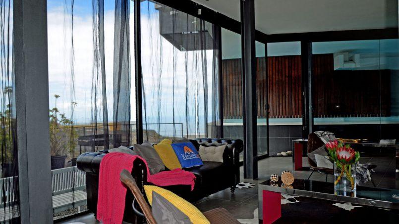Sofa Wohnzimmer Villa Adeje auf Teneriffa
