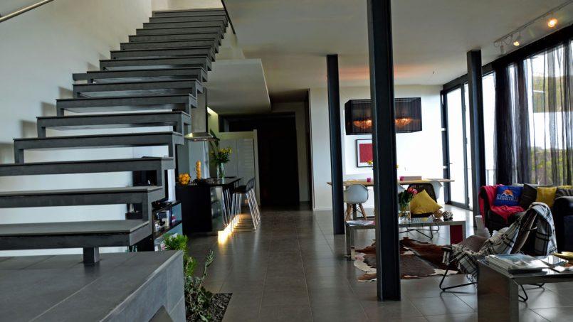 Aufgang oberes Stockwerk Villa Adeje auf Teneriffa